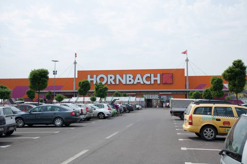 Afacerile grupului Hornbach au crescut în prima jumătate a anului 2017-2018 cu 5,7%, la 2,3 miliarde euro