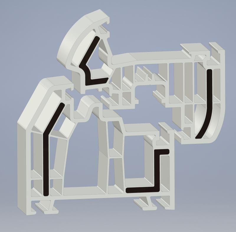 Profile de ferestremai ușoare, mai rezistente și mai avantajoase din punctul de vedere al costurilor datorită materialului plastic Ultradur® de la BASF