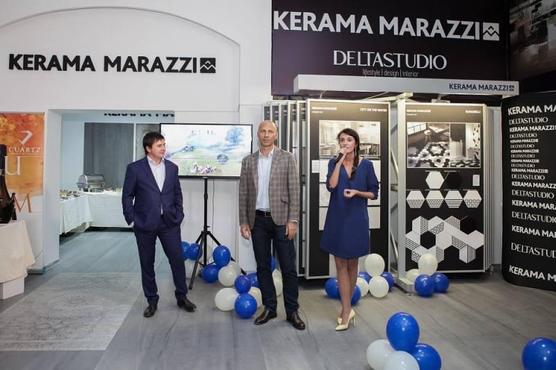 Delta Studio a deschis primul showroom monobrand Kerama Marazzi din România