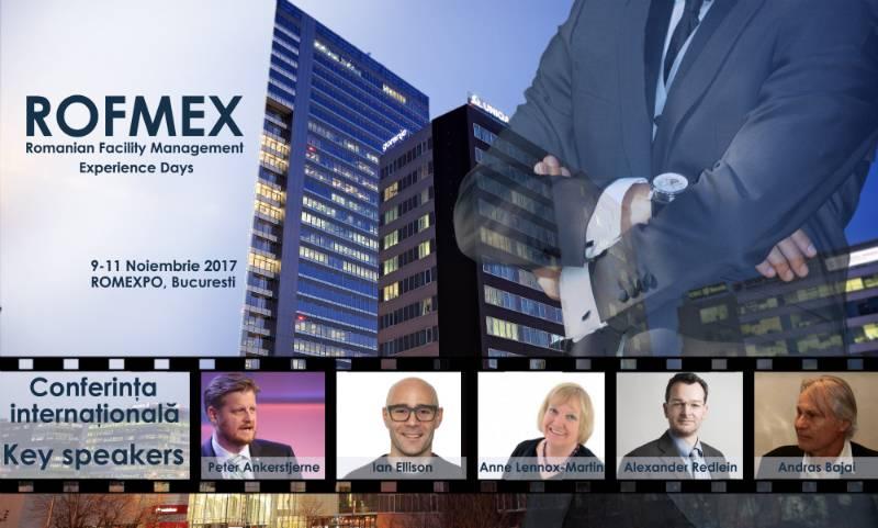Invitație la Conferința Internațională de Facility Management și Servicii Suport organizată în cadrul ROFMEX 2017