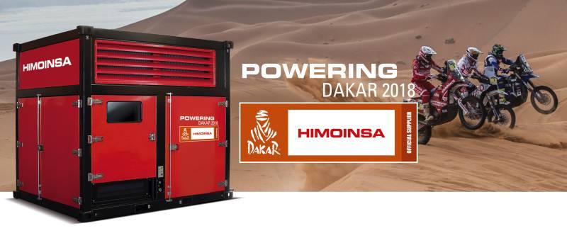 HIMOINSA, official power supplier at Dakar 2018