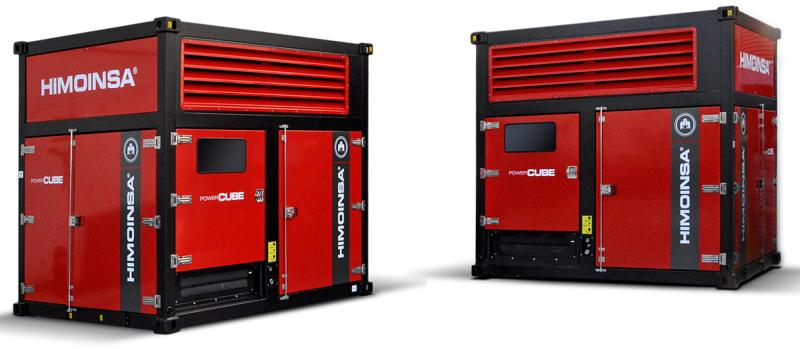 New HIMOINSA Power Cubes with FPT engines