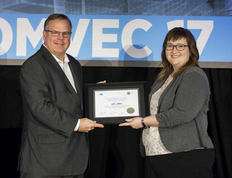 John Deere Senior Engineer Amy Jones Wins SAE/AEM Outstanding Young Engineer Award