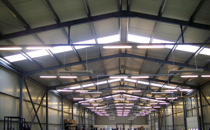 Sisteme de încălzire cu panouri radiante pentru hale și spații înalte ECOSUN S