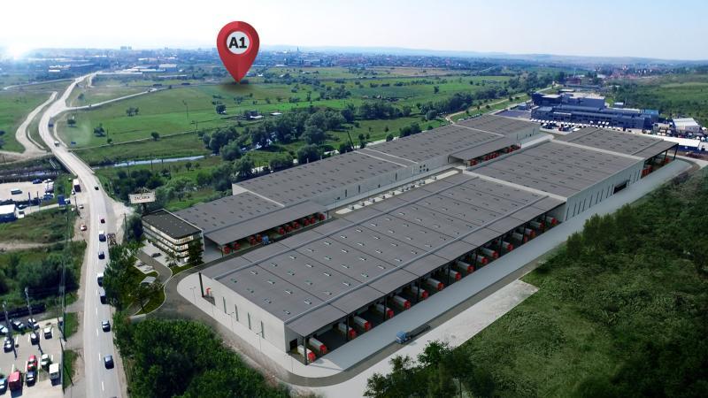 Zacaria livrează prima clădire din cel mai mare parc industrial din Sibiu
