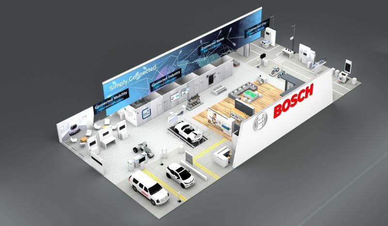 CES 2018: Bosch prezintă aceste soluții  inteligente în Las Vegas Concentrare pe tehnologiile pentru orașe conectate