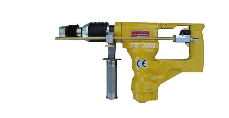 "CS UNITEC'S Hydraulic Rotary Hammer Drill with SDS-PLUS is Designed for Cost-effective Concrete Drilling up to 1"" Diameter"