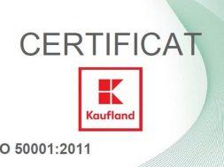 Certificare Dekra_Kaufland Romania