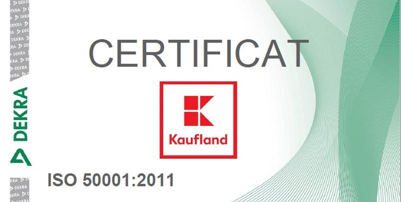 Kaufland România a primit certificare energetică de sustenabilitate
