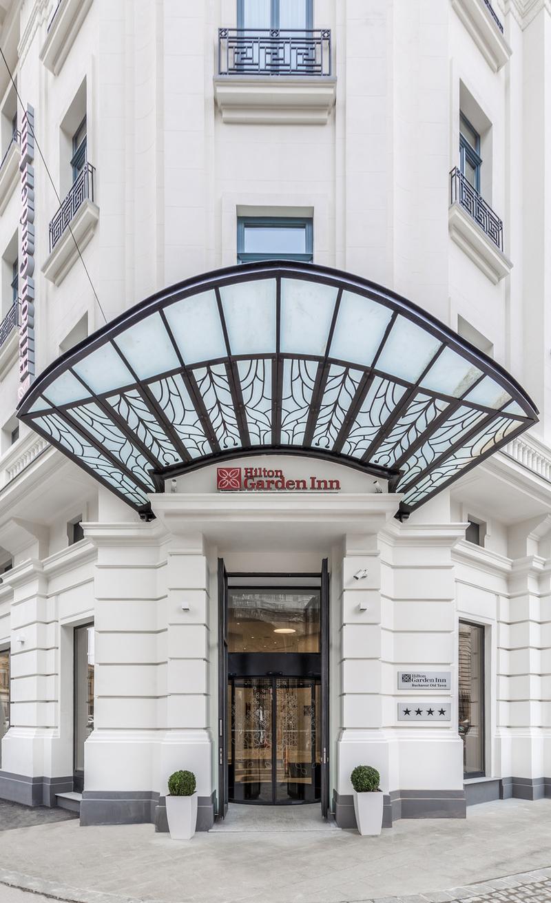 GEZE integrează produse premium în cadrul proiectului  architectural Hilton Garden Inn