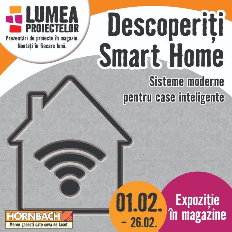 HORNBACH: Sistemele moderne pentru case inteligente,  tot mai căutate de către români