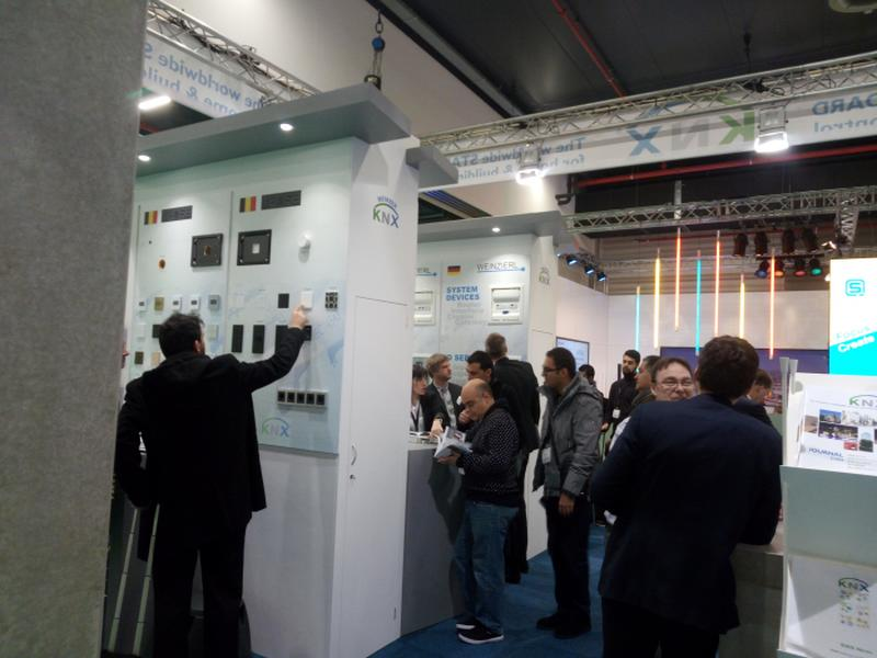 KNX present for the first time with 2 booths at ISE2018