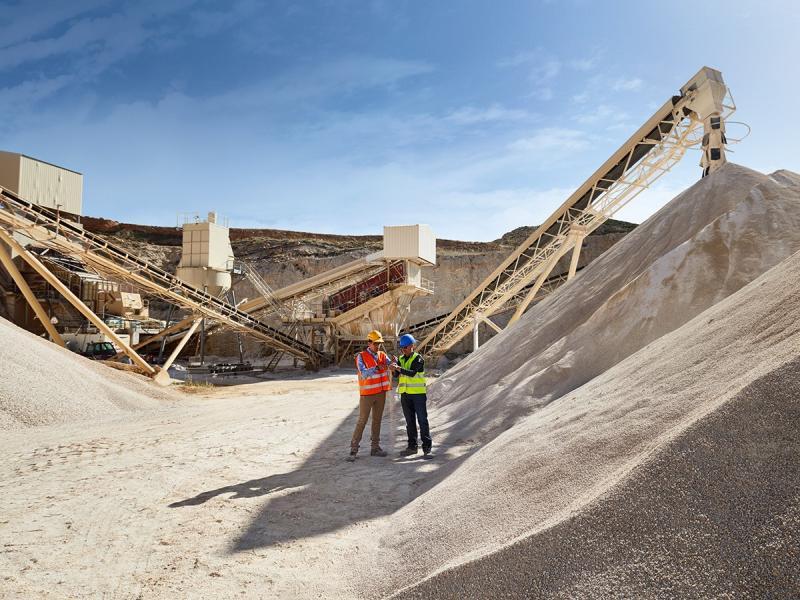 MasterSuna SBS permite folosirea nisipurilor argiloase pentru producția de beton