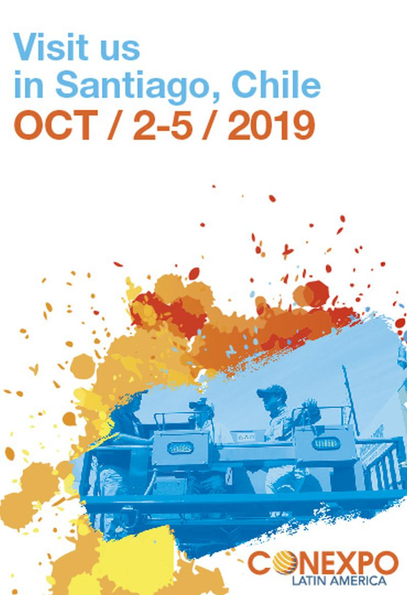 Mark Your Calendar! Dates Set for 2019 CONEXPO Latin America Exhibit Space Sales Open in March 2018