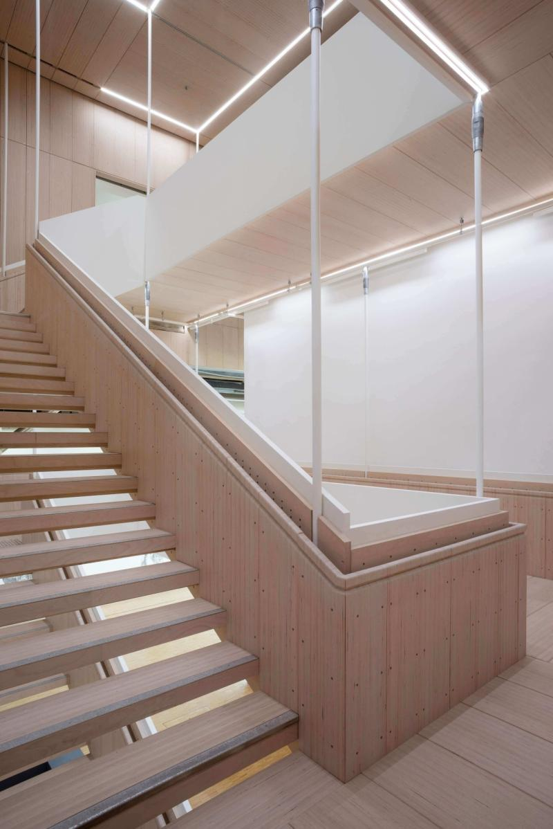 Staircase leading from the 20th to the 21st century