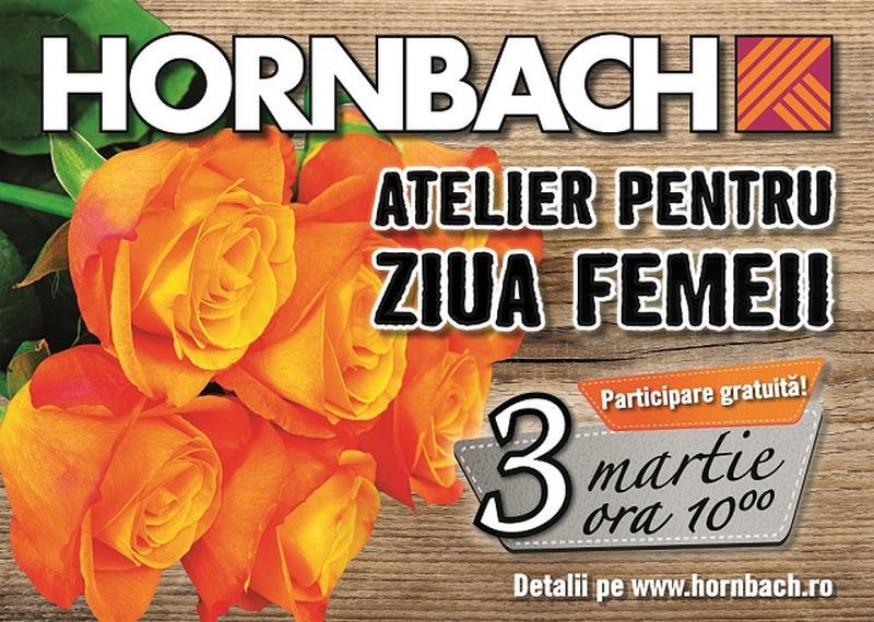 HORNBACH sărbătorește Ziua Femeii cu ateliere de bricolaj în toate magazinele