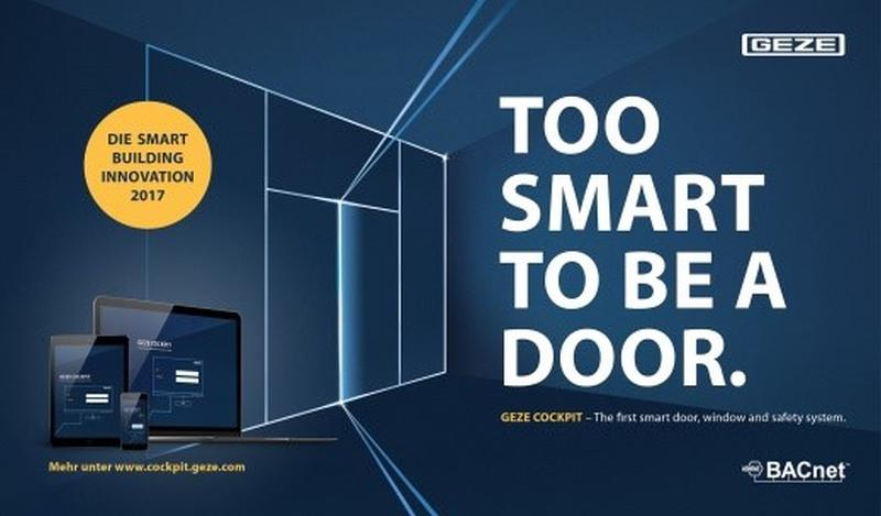 GEZE lansează noi soluții automatizate și integrate, pentru clădiri controlate inteligent