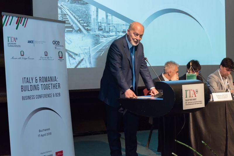 45 SOCIETĂȚI ITALIENE LA BUCUREȘTI, ALĂTURI DE ICE – Agenția Italiană pentru Comerț Exterior,  ANCE – Asociatia italiana a Constructorilor și OICE –  Asociația Italiană a Organizațiilor din Inginerie, Arhitectură și Consultanță tehnico-economică, PENTRU A BENEFICIA DE CELE MAI RECENTE OPORTUNITĂȚI DE COLABORARE