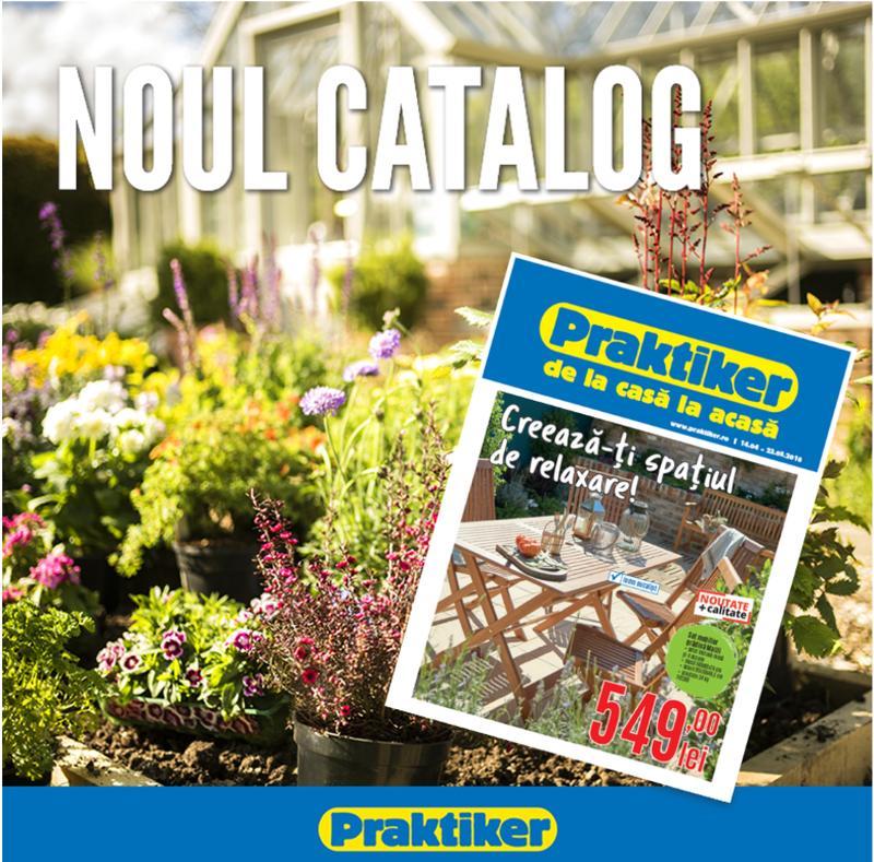 Noul catalog Praktiker aduce premii și surprize în toate magazinele din țară