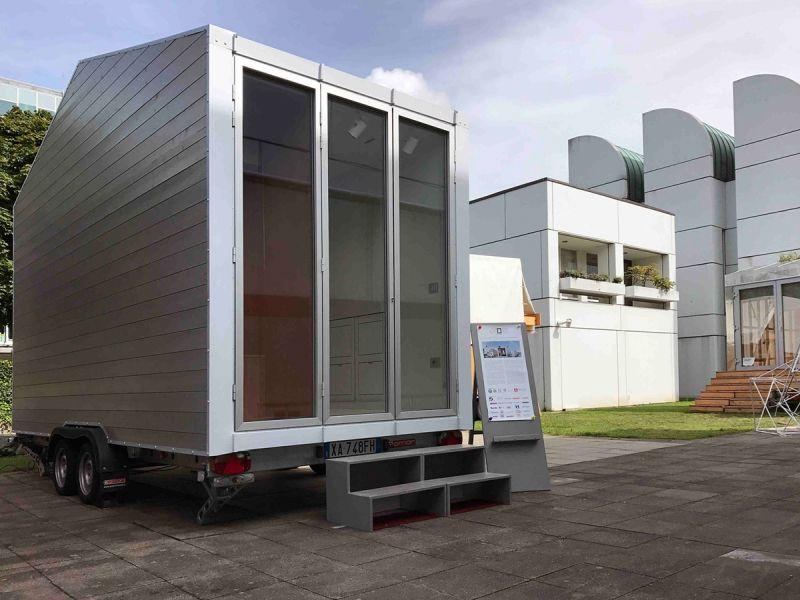 Häfele furnizează feronerie și soluții inteligente pentru prima casă mobilă în miniatură