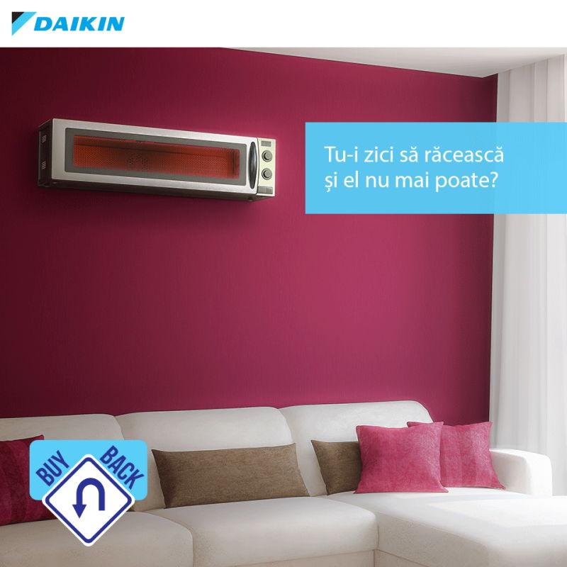 Daikin încurajează înlocuirea vechilor aparate de aer condiționat prin campania Buy Back