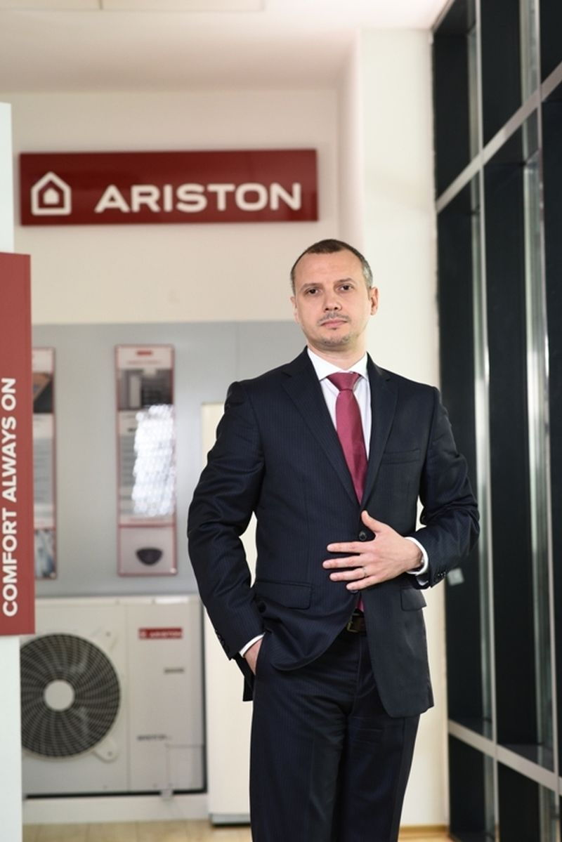 Ariston Thermo România: Vânzările anuale de centrale termice au crescut de aproape 20 de ori în ultimii 20 de ani